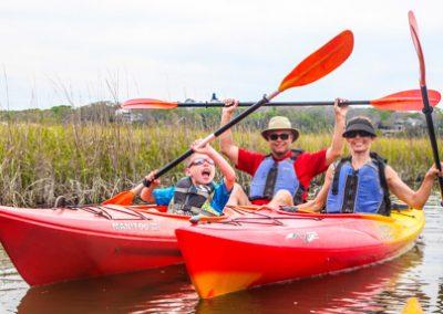 Egan's Creek Kayak Tour