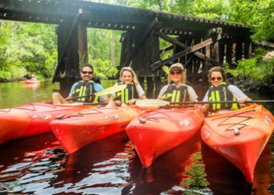 Lofton Creek Kayak tour Kayak Amelia-0843