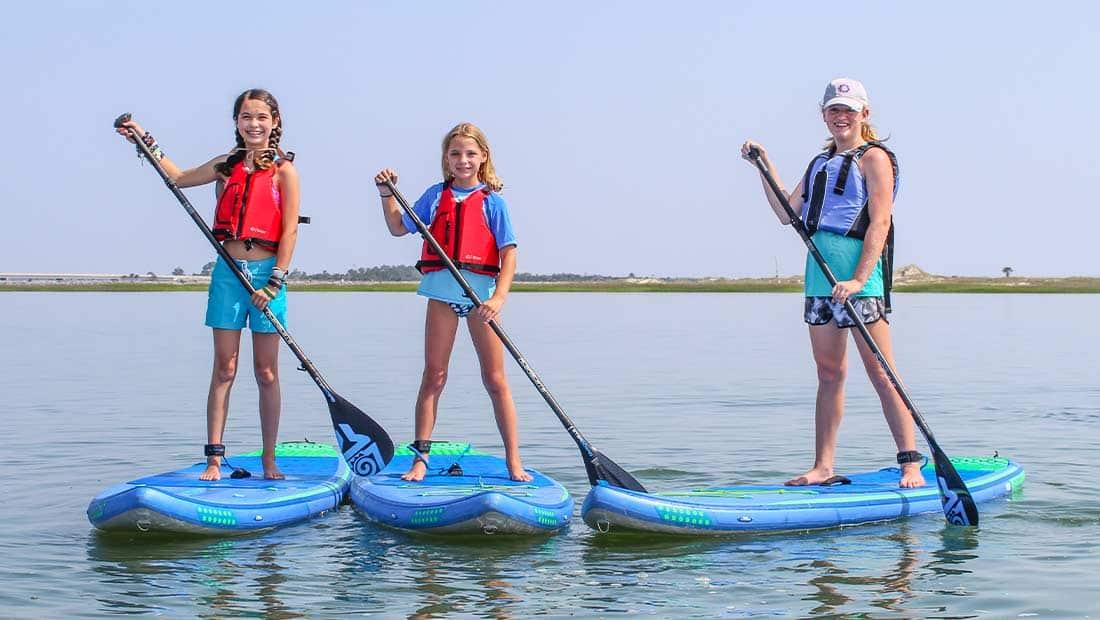 Kida Camp Paddleboard